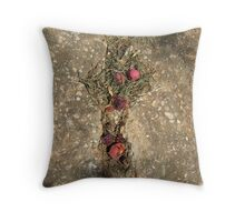 this year's persimmons ii Throw Pillow