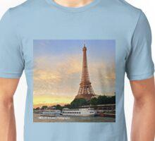 France - Eiffel Tower Sunset Unisex T-Shirt