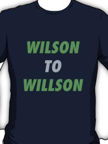 Wilson to Willson T-Shirt