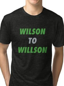 Wilson to Willson Tri-blend T-Shirt