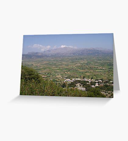 Lassithi Plains Greeting Card