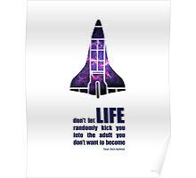 Astronaut Cmdr. Chris Hadfield Poster