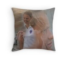 around Europe............... Throw Pillow