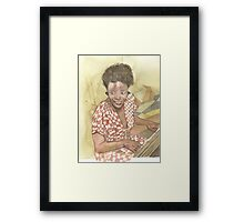 Mary Lou Williams Framed Print