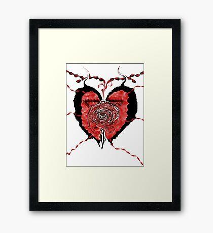 MVS-Broken Framed Print