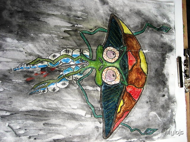Alien Mushroom by Mylojs