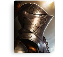 Knight & Shining Armor Canvas Print