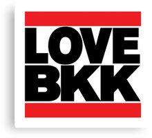 LOVE BKK Canvas Print