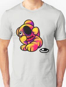 Missing Eye Teddy Bear Bright Unisex T-Shirt
