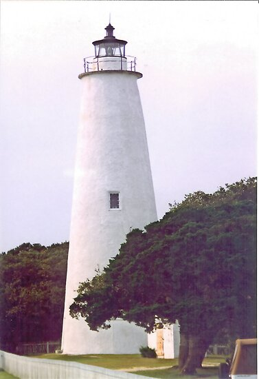 Ocracoke Lighthouse by Sheila Simpson