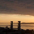 Old Quebec And The St Lawrence At Dawn by Gary Chapple