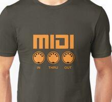 Midi  Orange Unisex T-Shirt