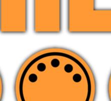 Midi  Orange Sticker