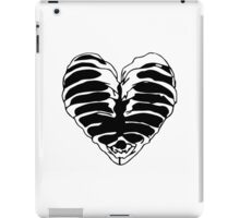 Skeleton heart iPad Case/Skin