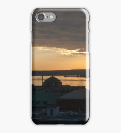 Old Quebec Sunrise iPhone Case/Skin