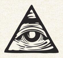 Illuminati eye by mamisarah
