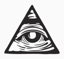 Illuminati eye Kids Clothes