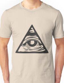 Illuminati eye Unisex T-Shirt