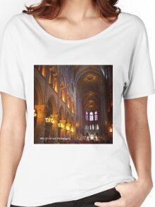 France - Notre Dame Interior Women's Relaxed Fit T-Shirt