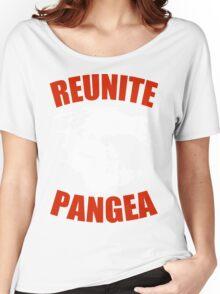 Reunite Pangea Funny Geek Nerd Women's Relaxed Fit T-Shirt