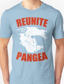 Reunite Pangea Funny Geek Nerd T-Shirt