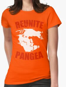 Reunite Pangea Funny Geek Nerd Womens Fitted T-Shirt