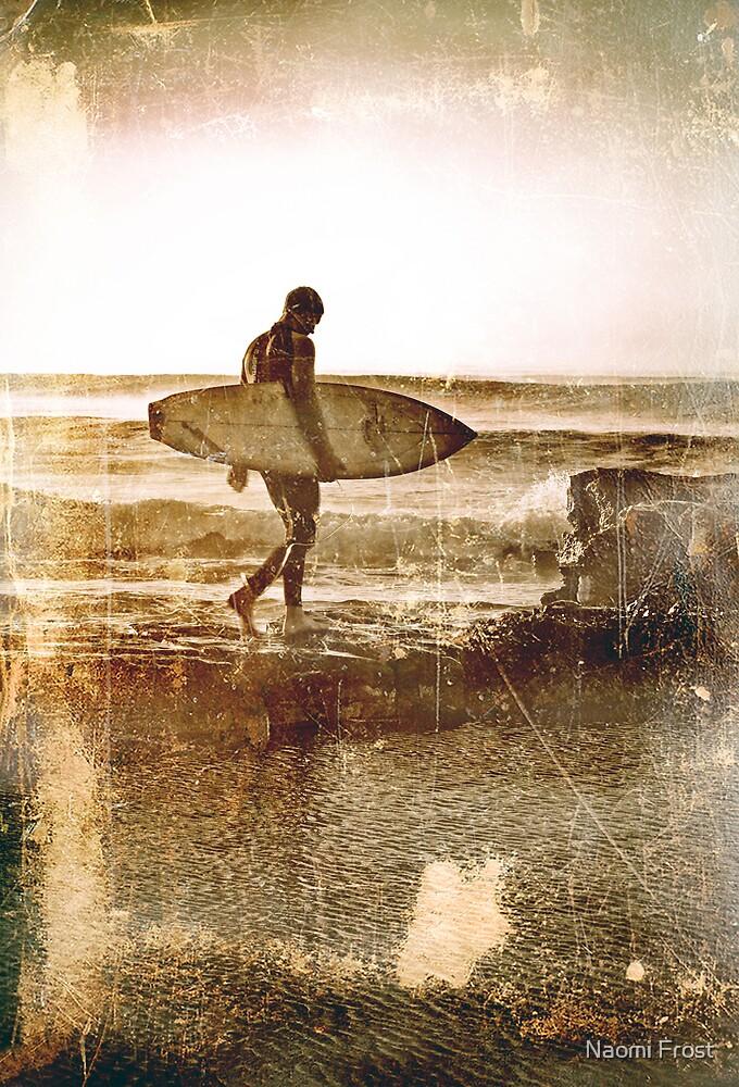 Vintage Surfer by Naomi Frost