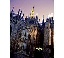 The Duomo at Night Photographic Print