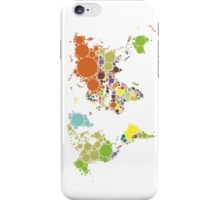 The World Goes Round & Round iPhone Case/Skin