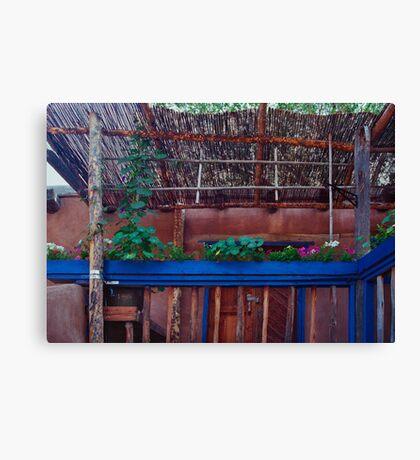 Southwestern Porch  Canvas Print