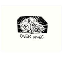 Bear Chemist - Over Spec Art Print