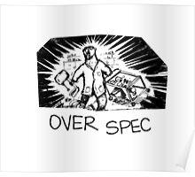 Bear Chemist - Over Spec Poster
