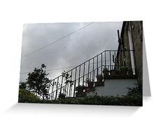 Colony Stair Greeting Card