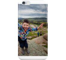 Henry - on top of the world! iPhone Case/Skin
