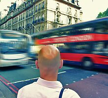 Bald head by Ray Smith
