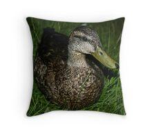 Quack! Throw Pillow