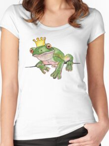 The Frog Prince Women's Fitted Scoop T-Shirt