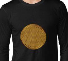 Gold Circle Long Sleeve T-Shirt