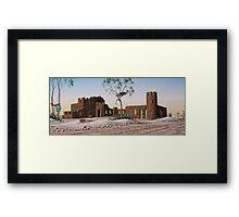 Amigos Castle Framed Print