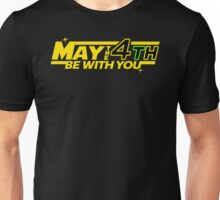 MAY THE 4TH BE WITH YOU Funny Geek Nerd Unisex T-Shirt