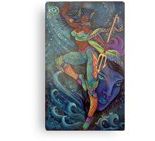 trinity the sea goddess Canvas Print