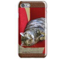 Kitty Cat Sending Love iPhone Case/Skin