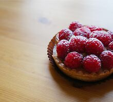 Raspberry Tartlet by Serina Patterson