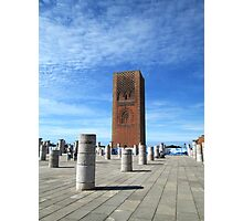 Hassan Tower, Rabat, Morocco II Photographic Print