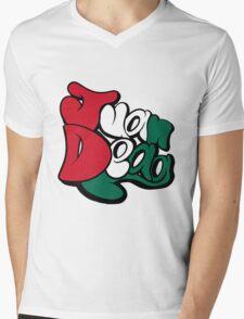 Juan Deag Flag Mens V-Neck T-Shirt