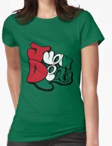 Juan Deag Flag Womens Fitted T-Shirt