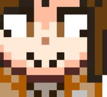 Attack on Titan - Sasha Braus Pixel Sprite - Chibi Sticker