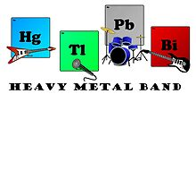 Heavy Metal Band by billha