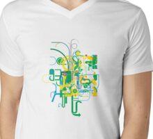 frenzy Mens V-Neck T-Shirt