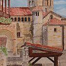 Santillana Cantabria. by Irene  Burdell